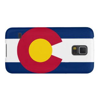Bandera popular de Colorado Fundas De Galaxy S5