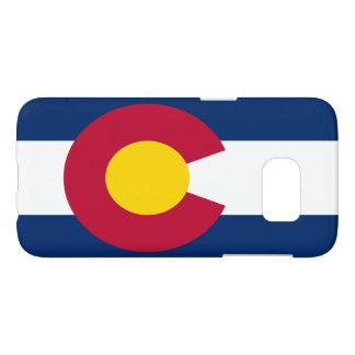 Bandera popular de Colorado Fundas Samsung Galaxy S7