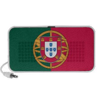 Bandera portuguesa, altavoz portátil