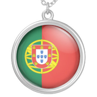 Bandera portuguesa colgante redondo