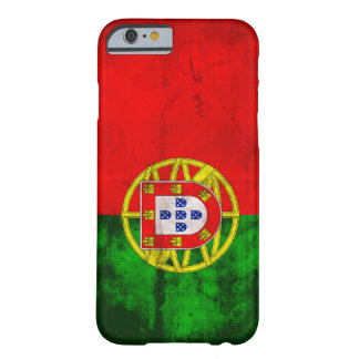 Bandera portuguesa funda de iPhone 6 barely there