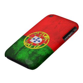 Bandera portuguesa iPhone 3 carcasa