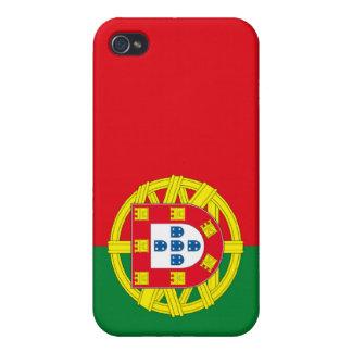 Bandera portuguesa iPhone 4 funda