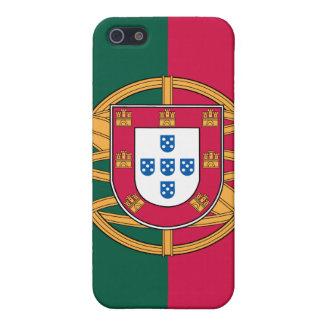 Bandera portuguesa iPhone 5 carcasas