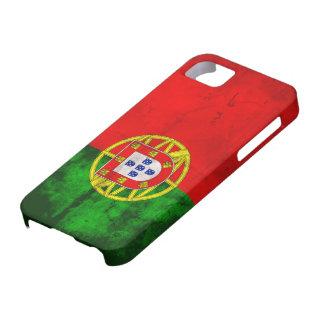 Bandera portuguesa iPhone 5 fundas