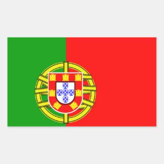 Bandera portuguesa rectangular altavoz