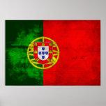 Bandera portuguesa poster