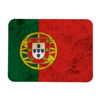 Bandera portuguesa rugosa iman de vinilo
