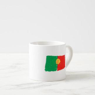 Bandera portuguesa tazita espresso
