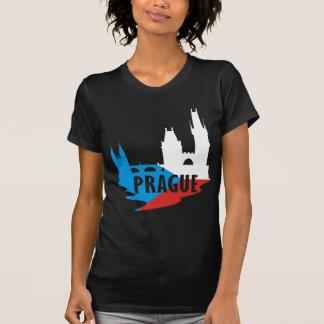 Bandera Praga Camisetas