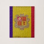 Bandera Principado Andorra Puzzles