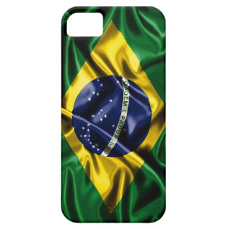 "Bandera ""progresso del Brasil de Ordem e "" iPhone 5 Funda"