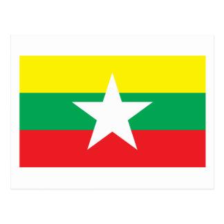 Bandera propuesta 2007 de Myanmar Tarjetas Postales
