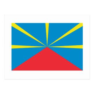 Bandera propuesta de Reunion Island Postal