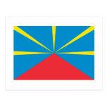 Bandera propuesta de Reunion Island Tarjetas Postales