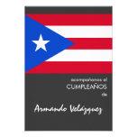 Bandera puertorriqueña comunicados
