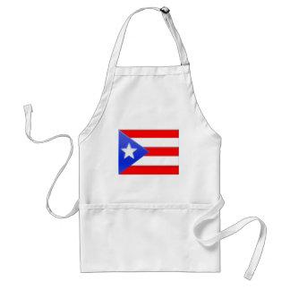 Bandera puertorriqueña delantal