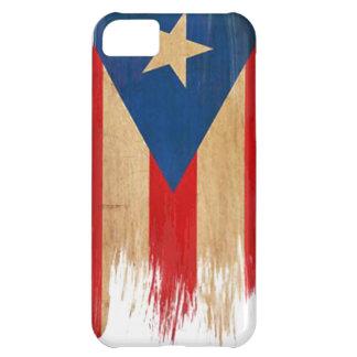 Bandera puertorriqueña funda para iPhone 5C