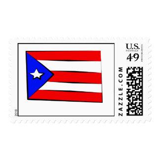 Bandera puertorriqueña sello