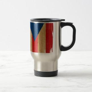 Bandera puertorriqueña tazas