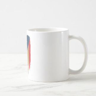 Bandera puertorriqueña taza de café