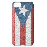 Bandera puertorriqueña texturizada para el iPhone