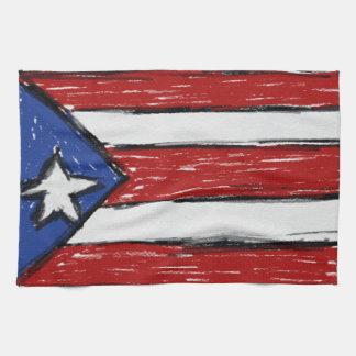 Bandera puertorriqueña toallas