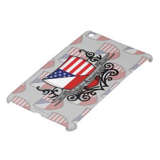 Bandera Pulimento-Americana del escudo