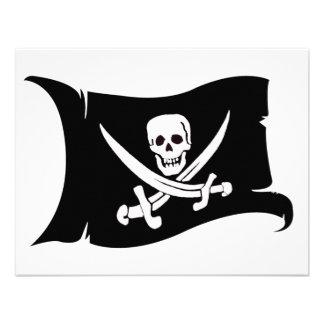 Bandera que agita 10 Jack Rackham Anuncio Personalizado