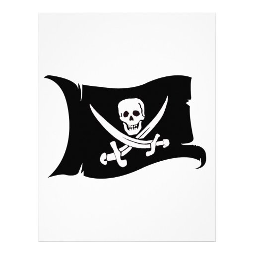 Bandera que agita #10 Jack Rackham Membretes Personalizados
