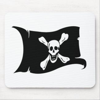 Bandera que agita #12 Richard Worley Alfombrillas De Ratón