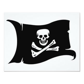 Bandera que agita #4 Edward England Comunicados Personalizados