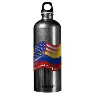 Bandera que agita Colombiano-Americana