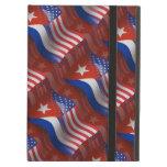 Bandera que agita Cubano-Americana