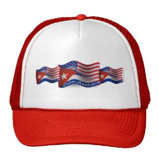 Bandera que agita Cubano-Americana Gorra