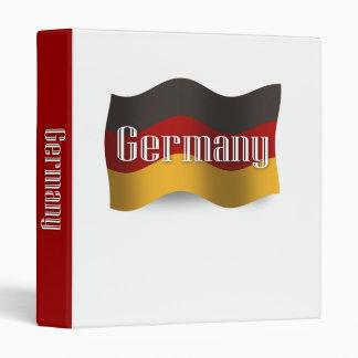"""Bandera que agita de Alemania Carpeta 1"""""""