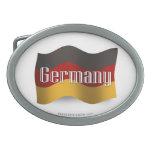 Bandera que agita de Alemania Hebillas Cinturón