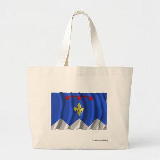 Bandera que agita de Alpes-de-Haute-Provence Bolsas
