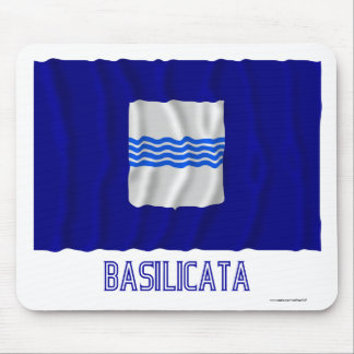 Bandera que agita de Basilicata con nombre Tapete De Ratones