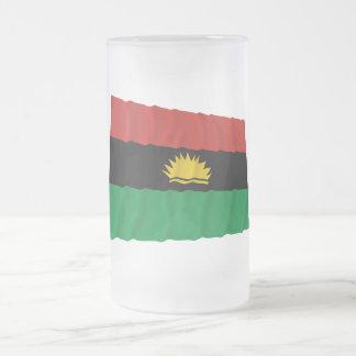 Bandera que agita de Biafra (1967-1970) Taza De Cristal