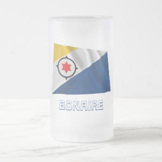 Bandera que agita de Bonaire con nombre Taza De Café