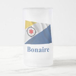 Bandera que agita de Bonaire con nombre Taza