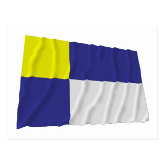 Bandera que agita de Bratislava Tarjetas Postales
