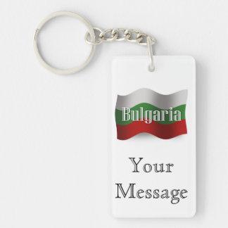 Bandera que agita de Bulgaria Llavero