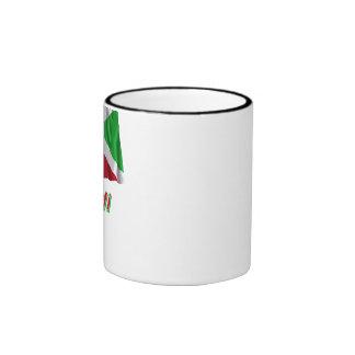 Bandera que agita de Burundi con nombre Taza De Dos Colores