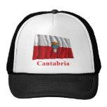 Bandera que agita de Cantabria con nombre Gorras
