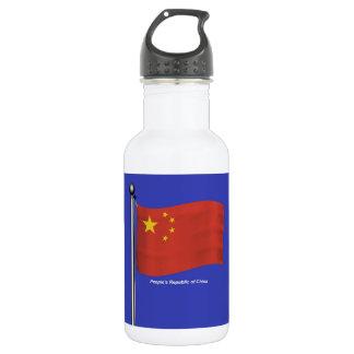 Bandera que agita de China