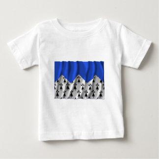 Bandera que agita de Côtes-d'Armor Tee Shirt