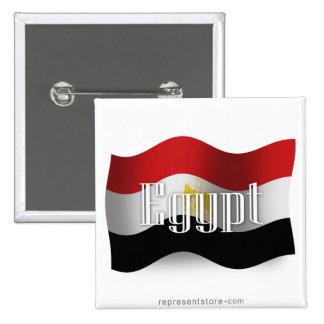 Bandera que agita de Egipto Pin