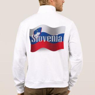 Bandera que agita de Eslovenia Chamarra